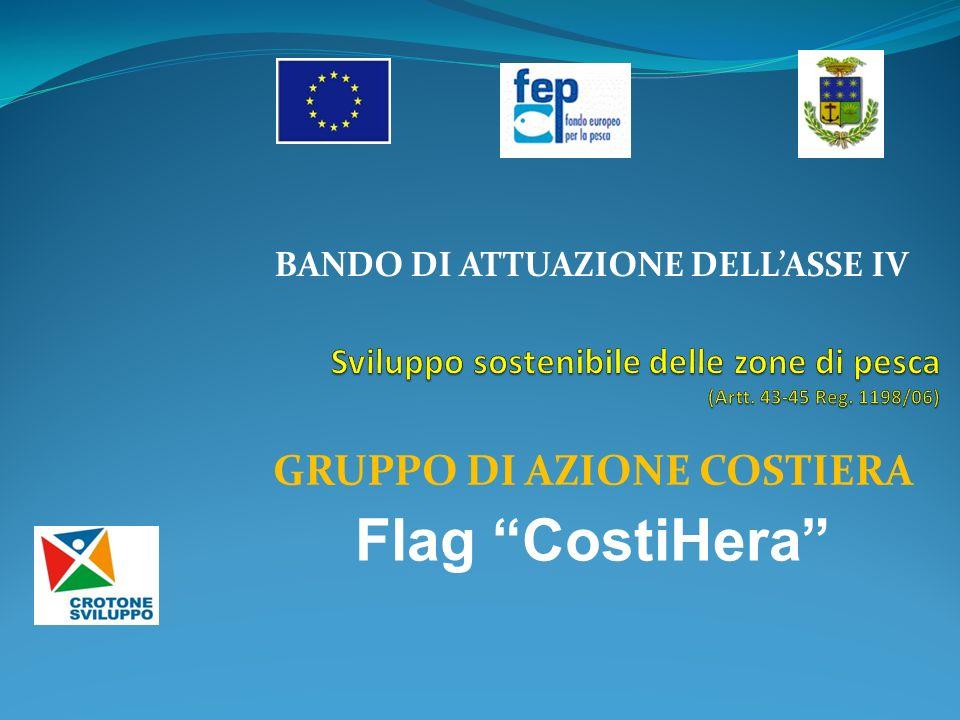 BANDO DI ATTUAZIONE DELLASSE IV GRUPPO DI AZIONE COSTIERA Flag CostiHera