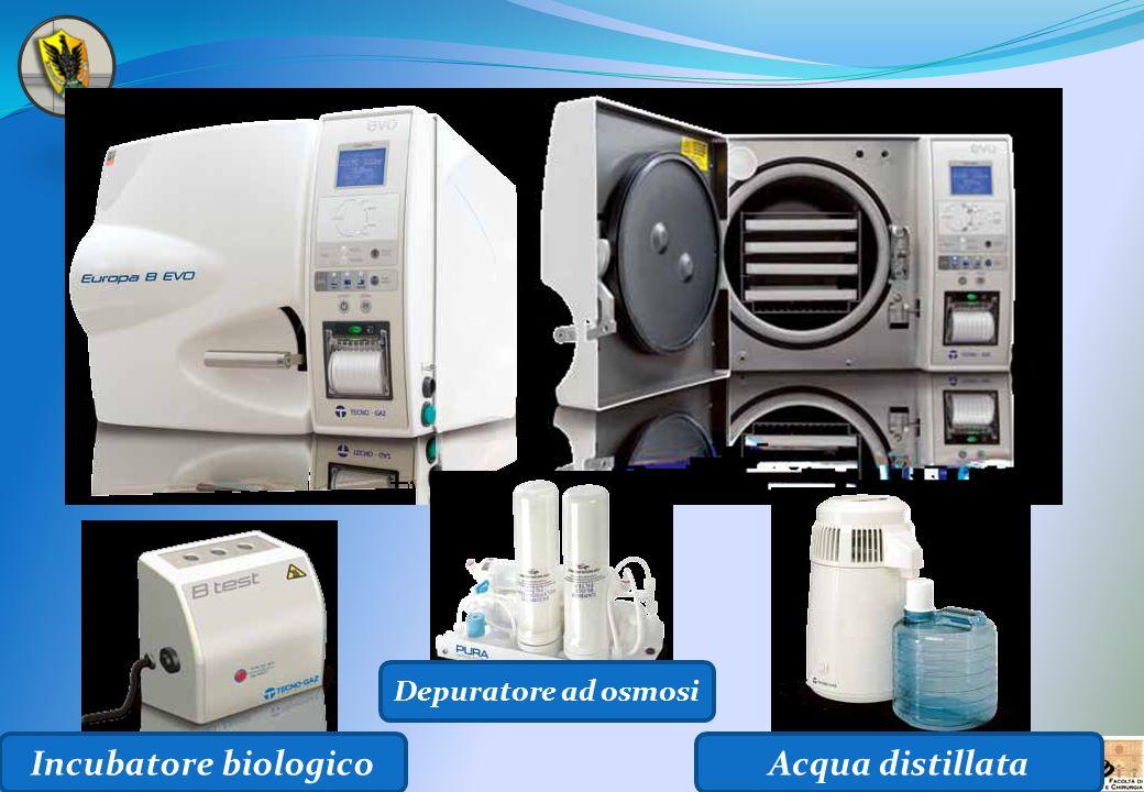 Incubatore biologico Depuratore ad osmosi Acqua distillata