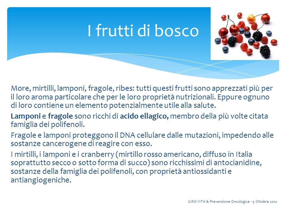More, mirtilli, lamponi, fragole, ribes: tutti questi frutti sono apprezzati più per il loro aroma particolare che per le loro proprietà nutrizionali.