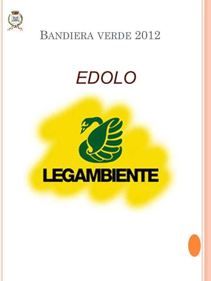 B ANDIERA VERDE 2012 EDOLO