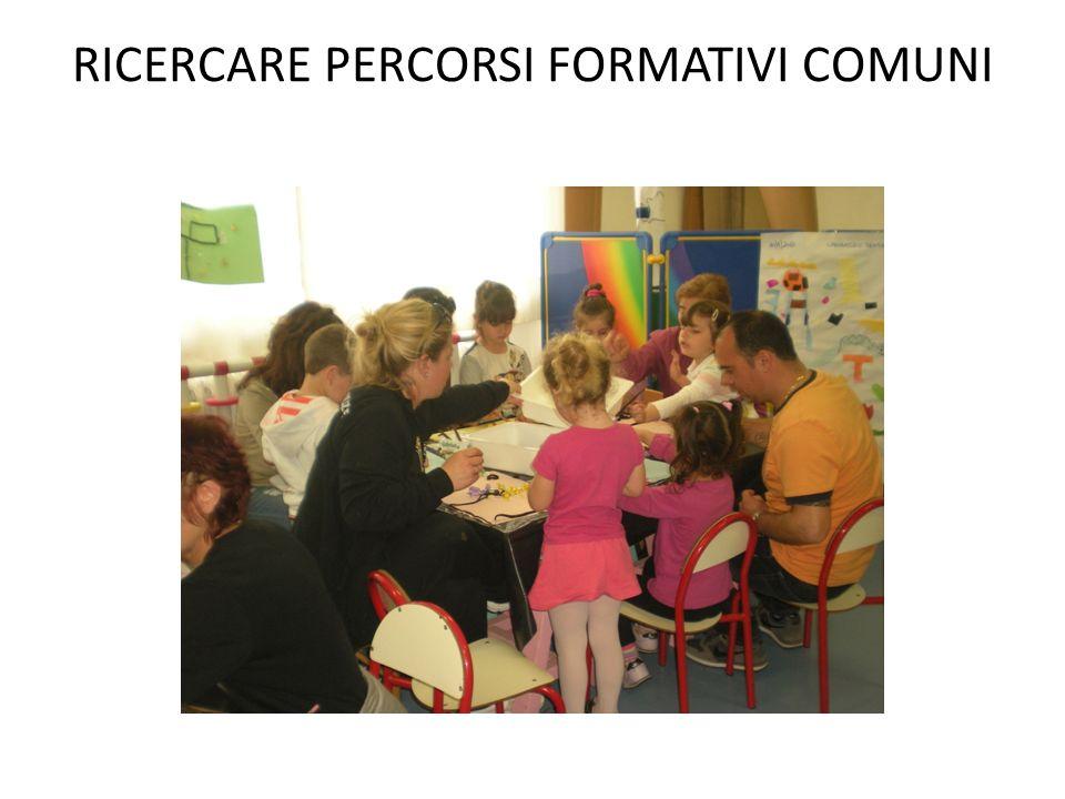 RICERCARE PERCORSI FORMATIVI COMUNI