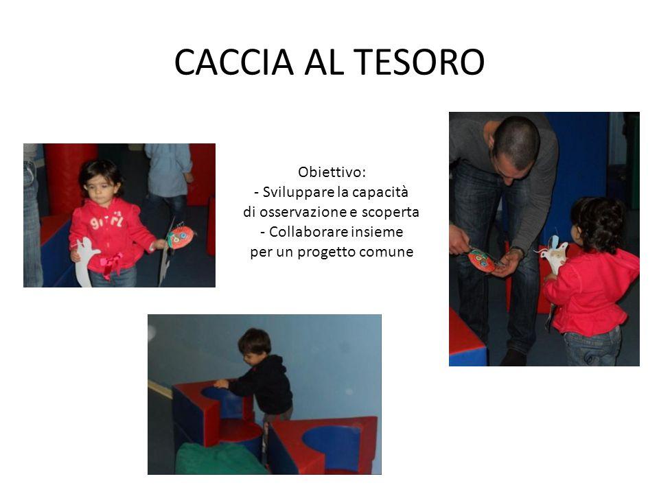 Obiettivo: promuovere la conoscenza di bambini, adulti e ambienti nuovi.
