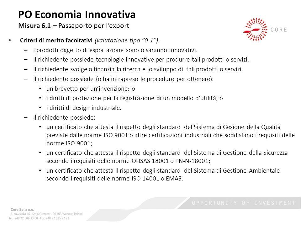 Fase II – Realizzazione del piano di sviluppo dellexport.