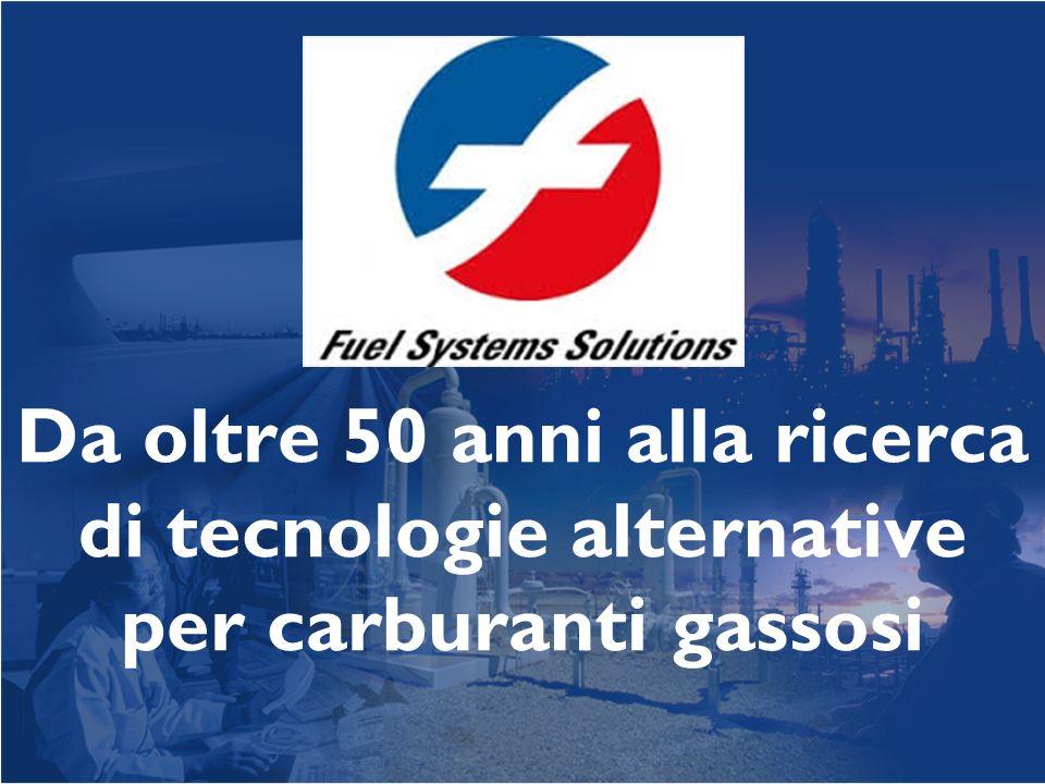 Da oltre 50 anni alla ricerca di tecnologie alternative per carburanti gassosi