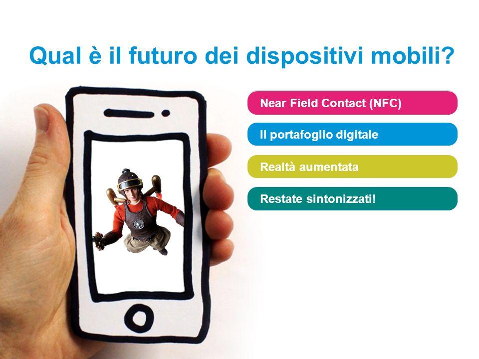 www.sophos.it/loveyourphone Near Field Contact (NFC) Il portafoglio digitale Realtà aumentata Restate sintonizzati.