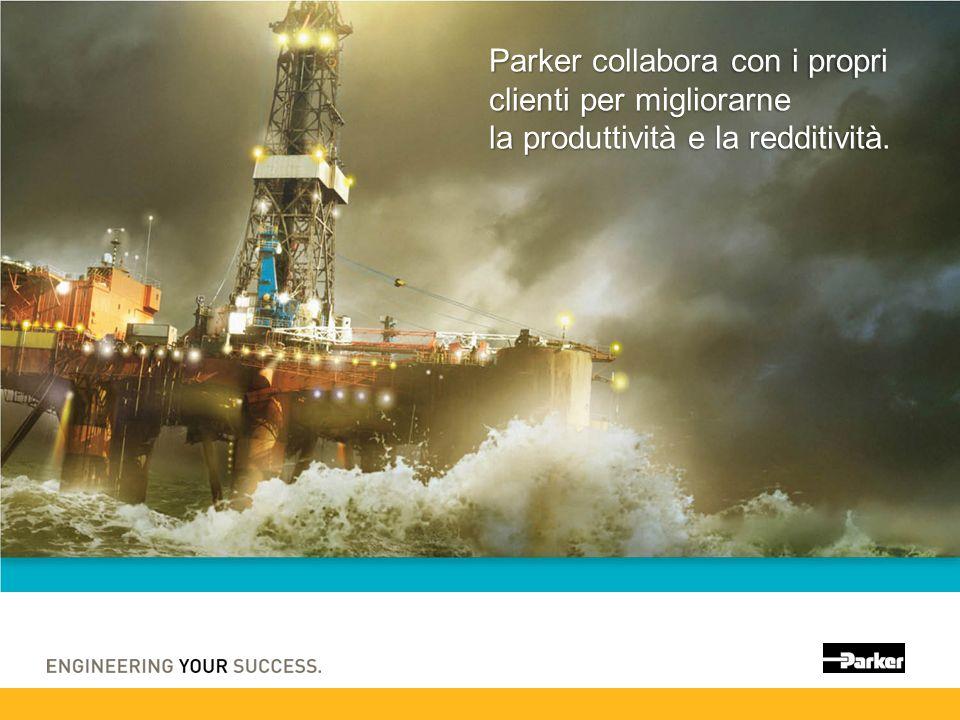 Parker collabora con i propri clienti per migliorarne la produttività e la redditività.
