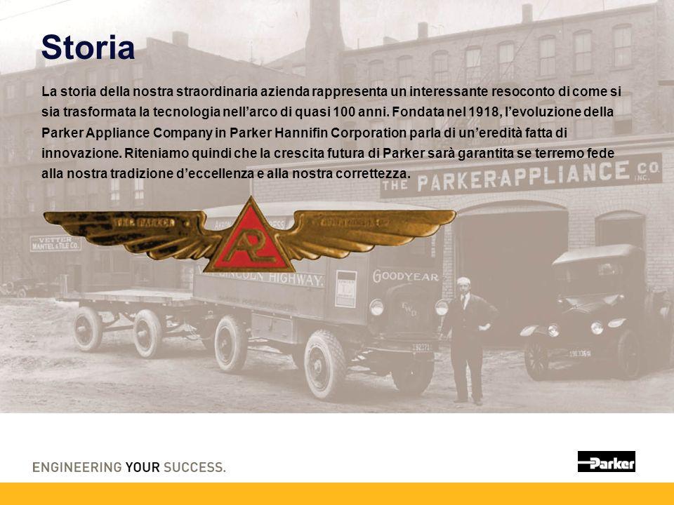 Storia La storia della nostra straordinaria azienda rappresenta un interessante resoconto di come si sia trasformata la tecnologia nellarco di quasi 100 anni.