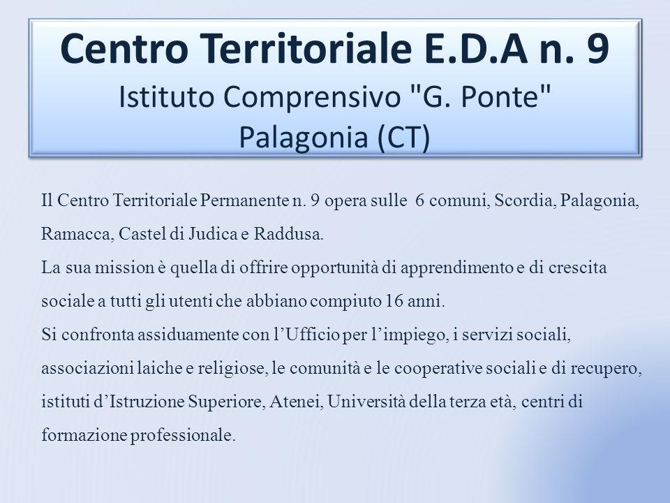 Centro Territoriale E.D.A n.9 Istituto Comprensivo G.