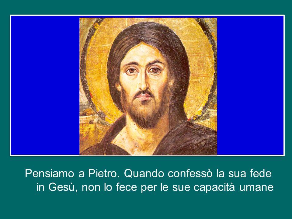 Per questo la Chiesa di Roma è diventata, subito, spontaneamente, il punto di riferimento per tutte le Chiese sparse nel mondo. Non per il potere dell