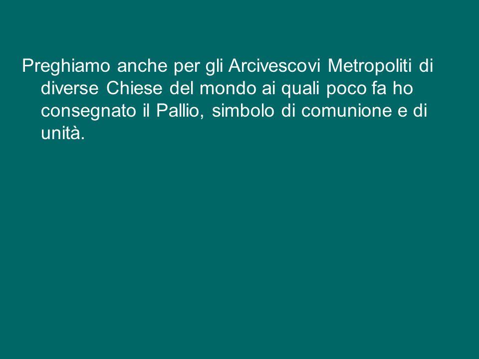 Vi invito anche a pregare tutti insieme unAve Maria per il patriarca Bartolomeo I; tutti insieme: Ave o Maria…