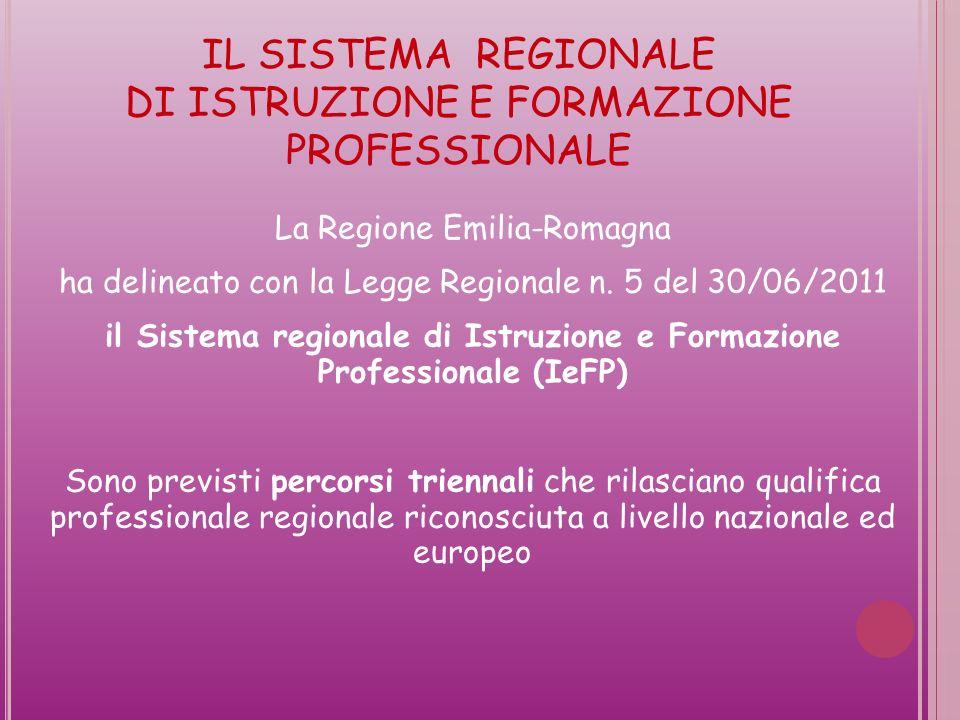La Regione Emilia-Romagna ha delineato con la Legge Regionale n.