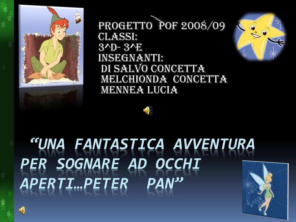 PROGETTO POF 2008/09 Classi: 3^D- 3^E Insegnanti: Di Salvo Concetta Melchionda Concetta Mennea Lucia
