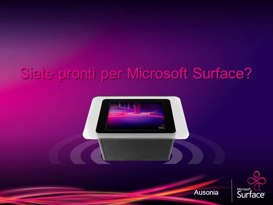 Siete pronti per Microsoft Surface? Ausonia