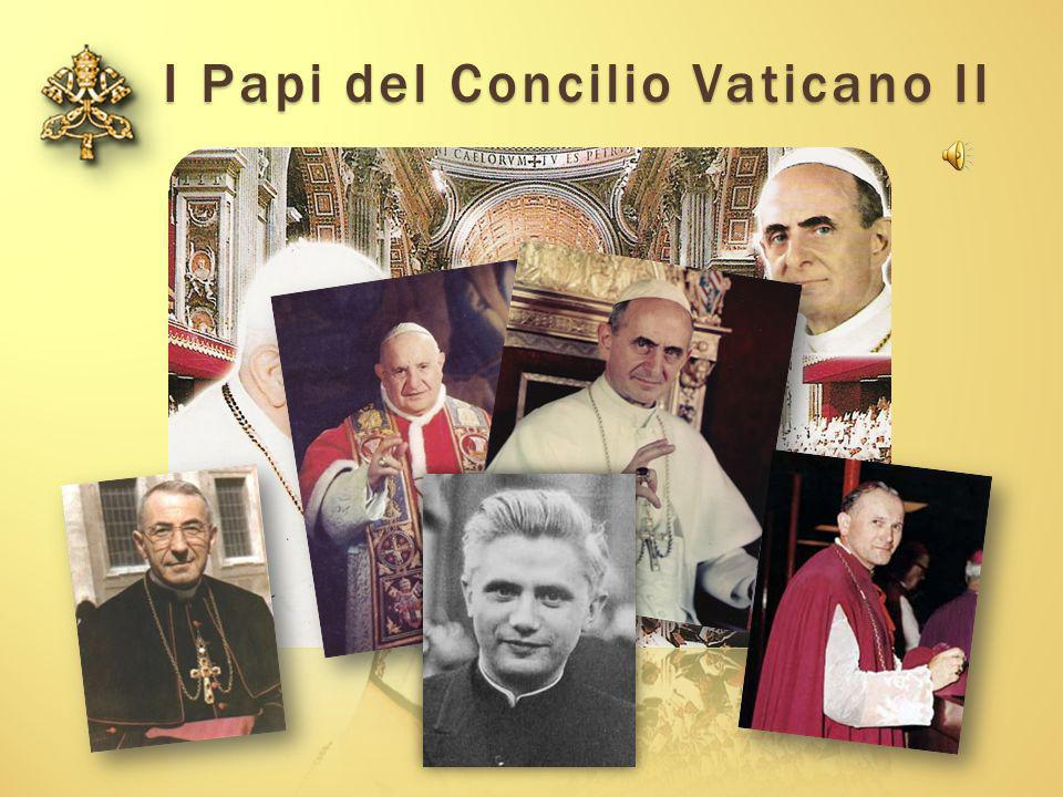 I Papi del Concilio Vaticano II