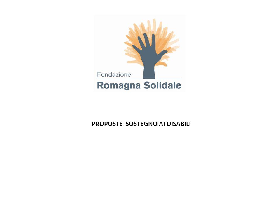 Settore: sostegno ai disabili Zona: San Mauro Pascoli Durata del progetto: giugno 2012-agosto 2013 Contributo : 4.500 Contributo per lo start-up per la realizzazione di unoasi multifunzionale e autonoma che coprirà 1.000 mq nel terreno della Cooperativa.