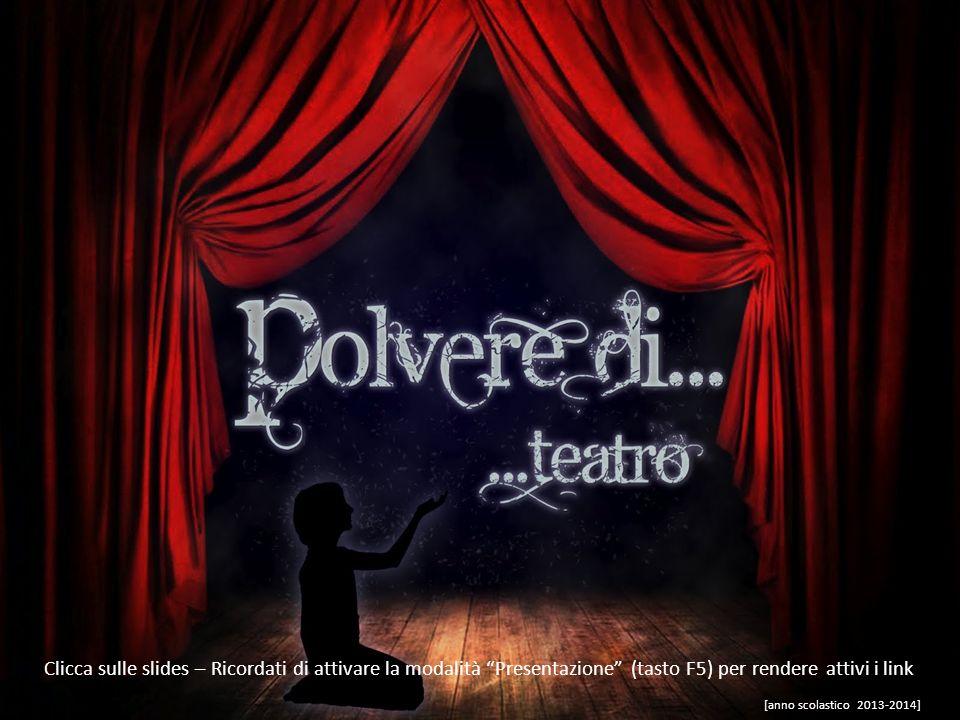 Andiamo a teatro… a vedere…