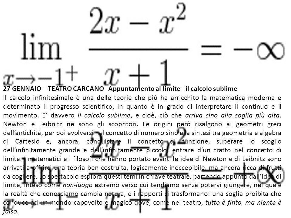 Il calcolo infinitesimale è una delle teorie che più ha arricchito la matematica moderna e determinato il progresso scientifico, in quanto è in grado