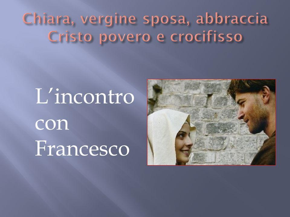 Lincontro con Francesco