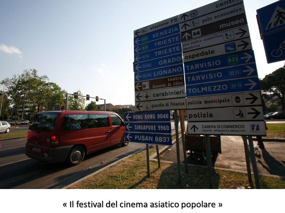 « Il festival del cinema asiatico popolare »