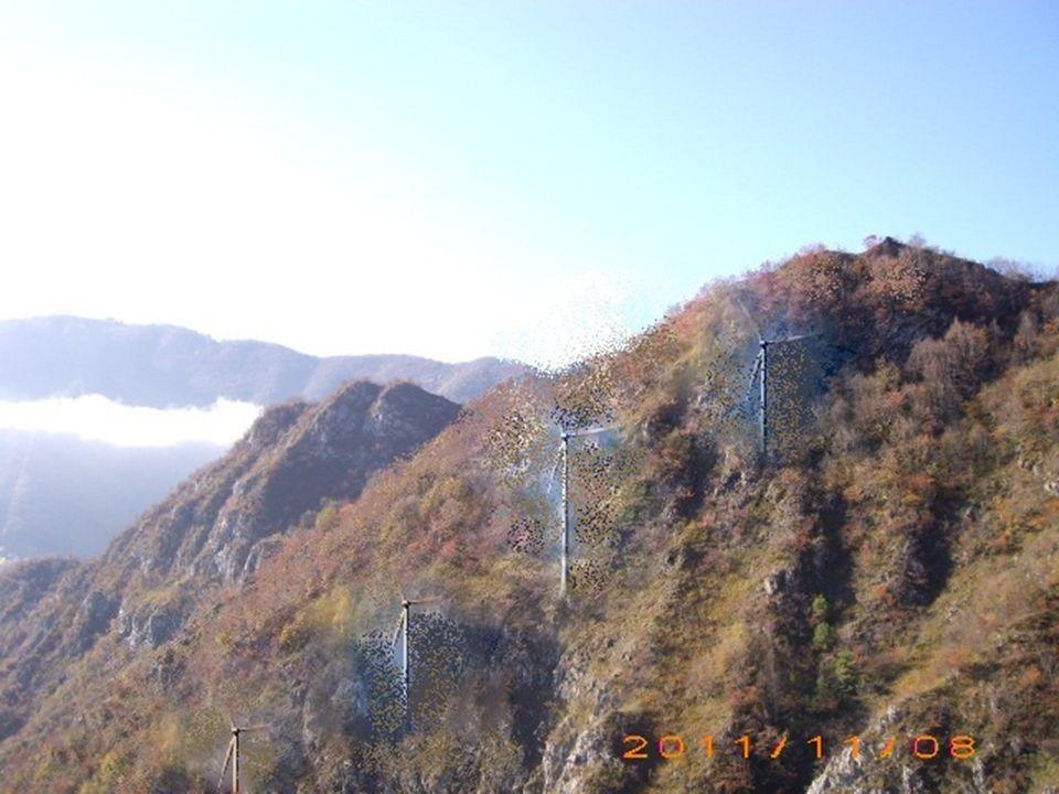 ELEMENTINUOVIImpianti eolici PERDUTILa vegetazione MODIFICATILa montagna FUNZIONINUOVIDi sfruttare le risorse rinnovabili PERDUTI/ MODIFICATI/ VALORINUOVITecnico PERDUTIBiologico MODIFICATIGeologico VALUTAZIONE FINALE È stato modificato il versante della montagna per fare posto a impianti che sfruttano risorse rinnovabili