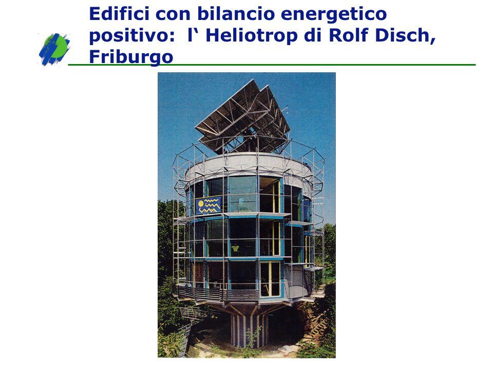 Edifici con bilancio energetico positivo: l Heliotrop di Rolf Disch, Friburgo