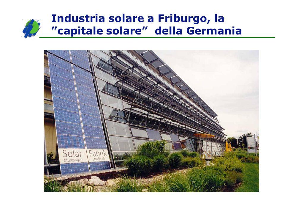 Industria solare a Friburgo, la capitale solare della Germania