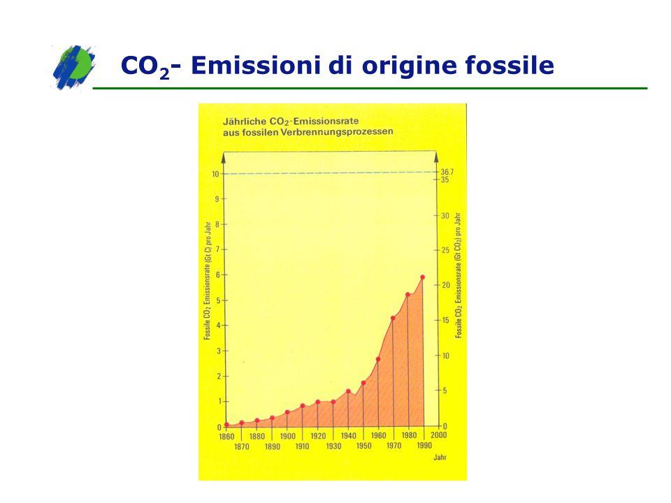 CO 2 - Emissioni di origine fossile