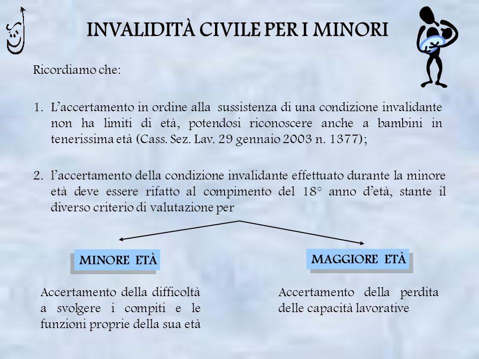 ESCLUSIONE DALLE VISITE DI CONTROLLO CIRCA LA PERSISTENZA DELLO STATO INVALIDANTE Legge 9 marzo 2006 n.
