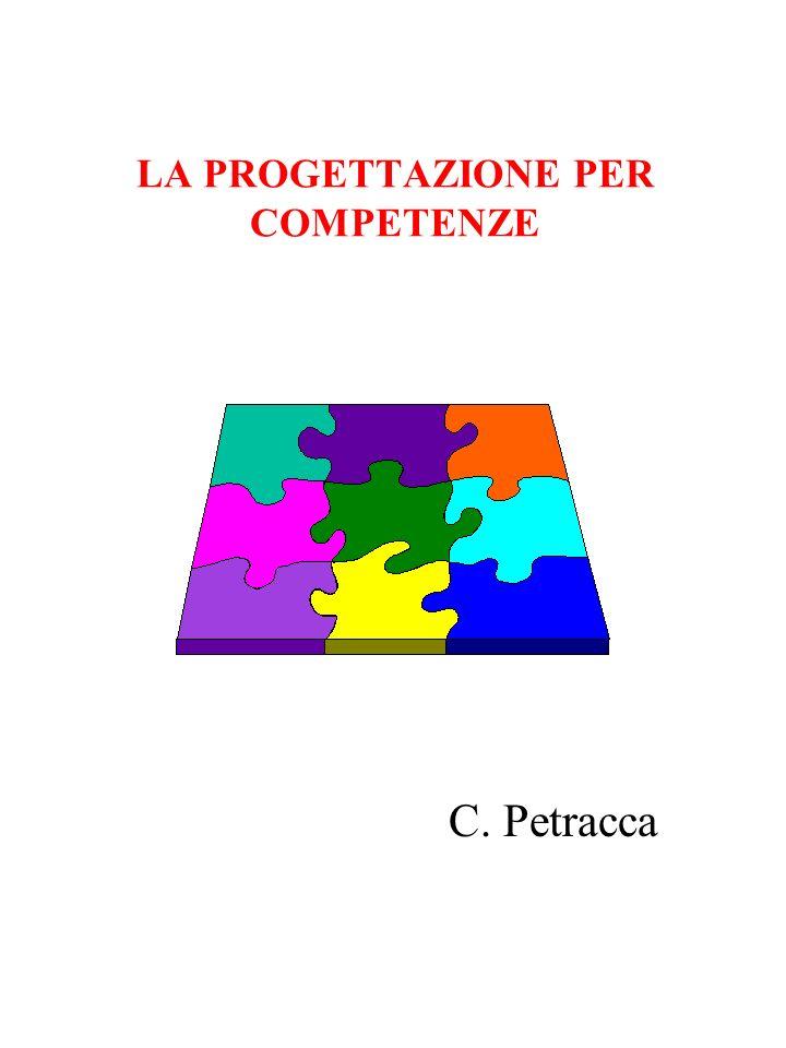LA PROGETTAZIONE PER COMPETENZE C. Petracca