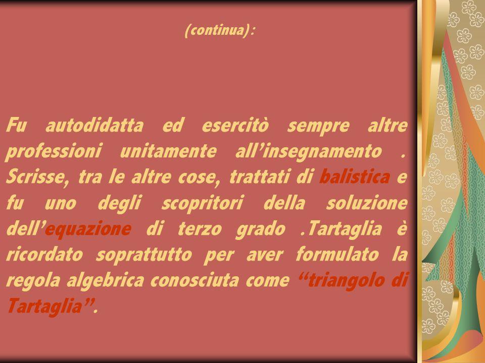 Niccolò Fontana (Brescia1500-Venezia1557), matematico italiano.