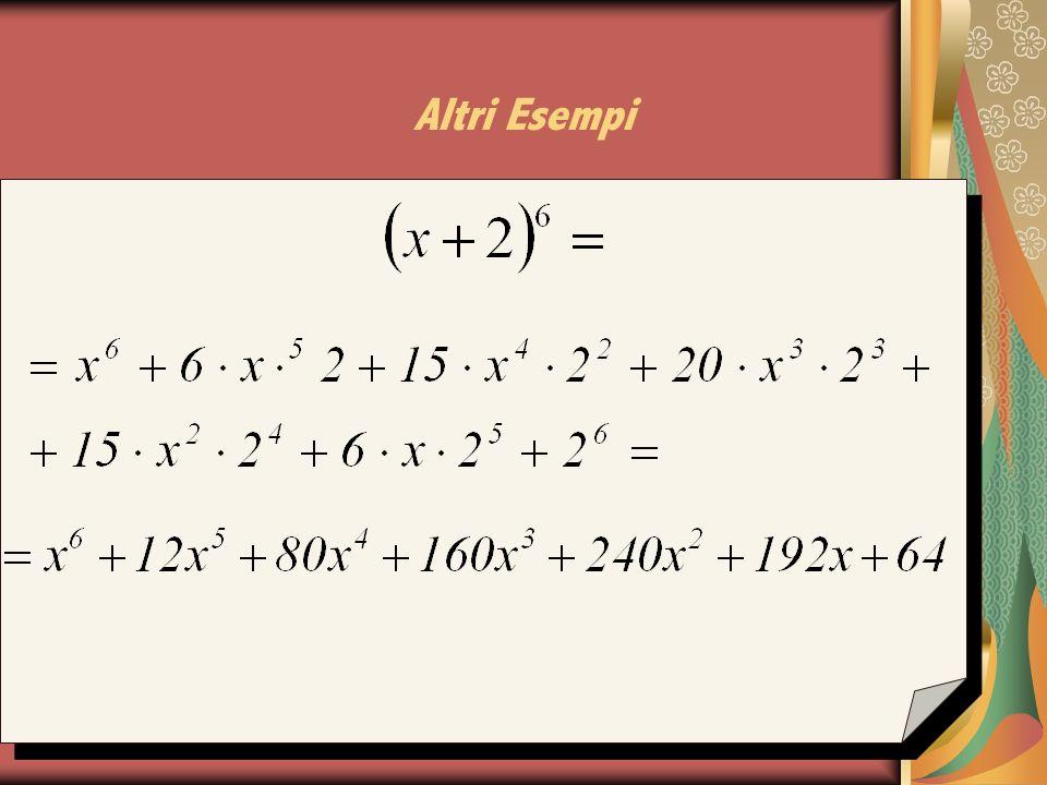 Esempi: (2x – 1) = 5