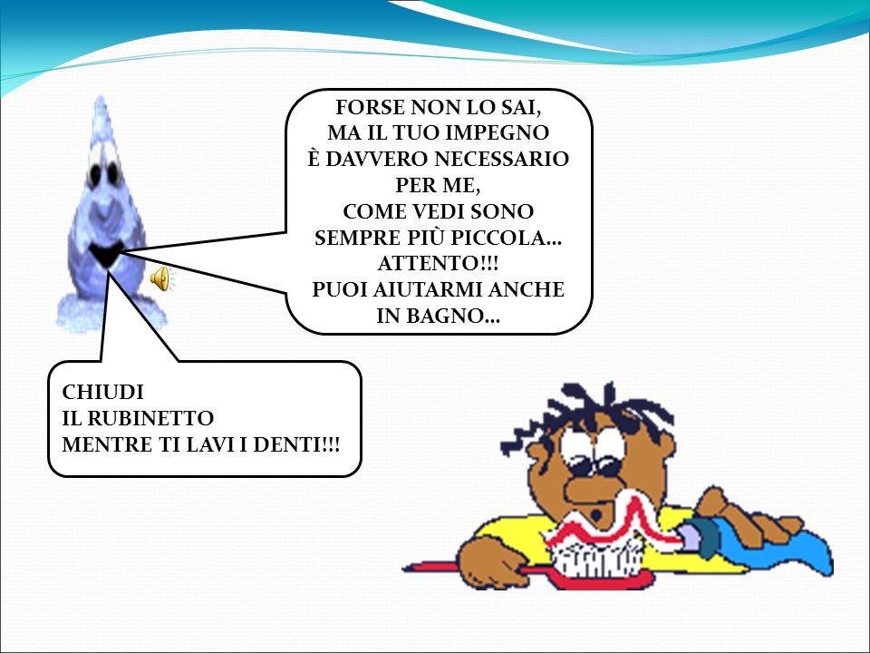 BAGNO O DOCCIA.MEGLIO LA DOCCIA!!.