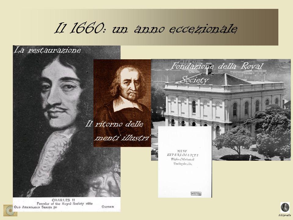 bibligrafia Boyle: Esperimenti paradigmatici –XVII …..