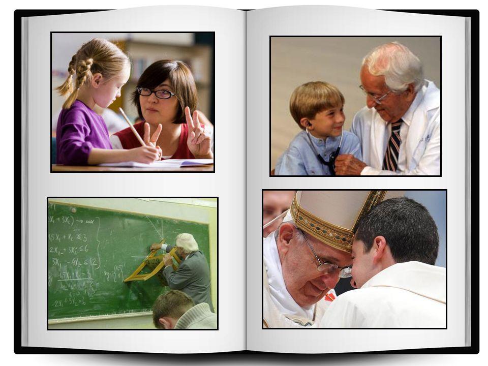 Il dito successivo è l'indice. Prega per coloro che insegnano, educano e curano. Questa categoria comprende maestri, professori, medici e sacerdoti. H