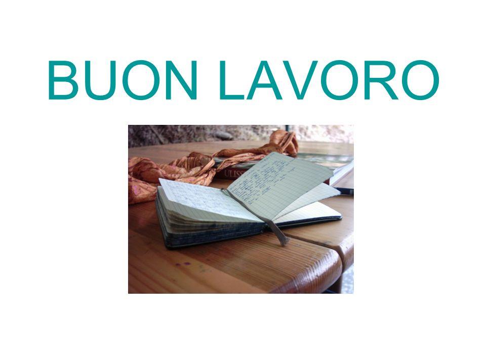 BUON LAVORO
