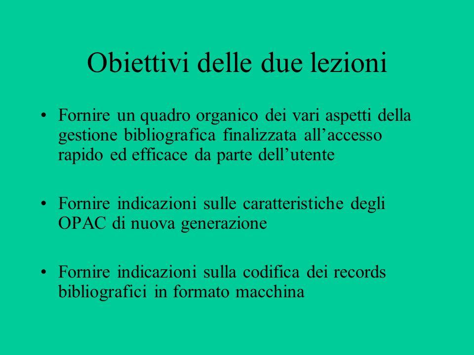 Formati e software di gestione per i record bibliografici Integrazione dellinformazione e qualità degli OPAC Napoli, 1 marzo 2002 Rosa Maiello Università degli studi di Napoli Federico II