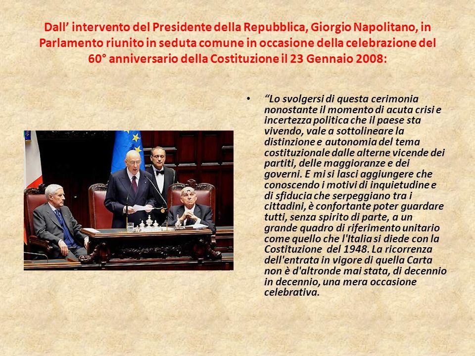 COSTITUZIONE ITALIANA: UN FRANCOBOLLO PER I SUOI 60 ANNI La vignetta riproduce, in primo piano, il numero 60 realizzato nei colori verde, bianco e ros