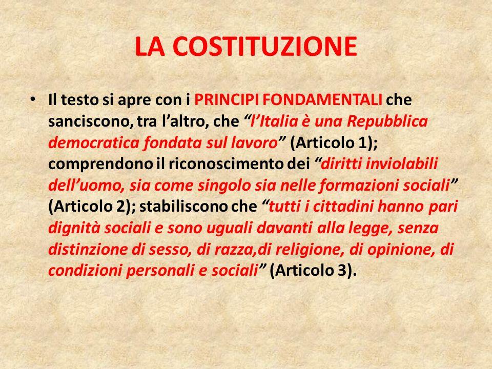Dall intervento del Presidente della Repubblica, Giorgio Napolitano, in Parlamento riunito in seduta comune in occasione della celebrazione del 60° anniversario della Costituzione il 23 Gennaio 2008: Nei doveri non meno che nei diritti.