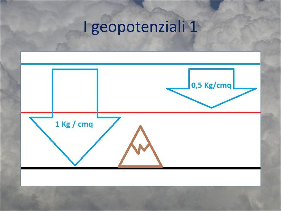 I geopotenziali 1