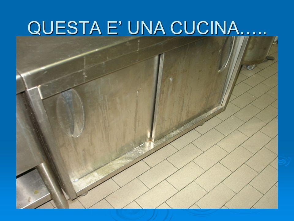 QUESTA E UNA CUCINA…..