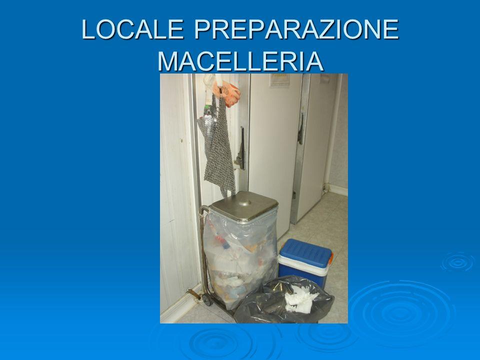 LOCALE PREPARAZIONE MACELLERIA