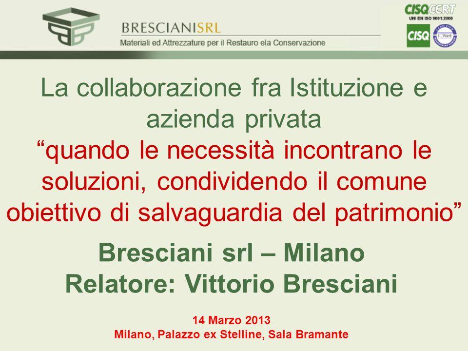 La collaborazione fra Istituzione e azienda privataquando le necessità incontrano le soluzioni, condividendo il comune obiettivo di salvaguardia del p