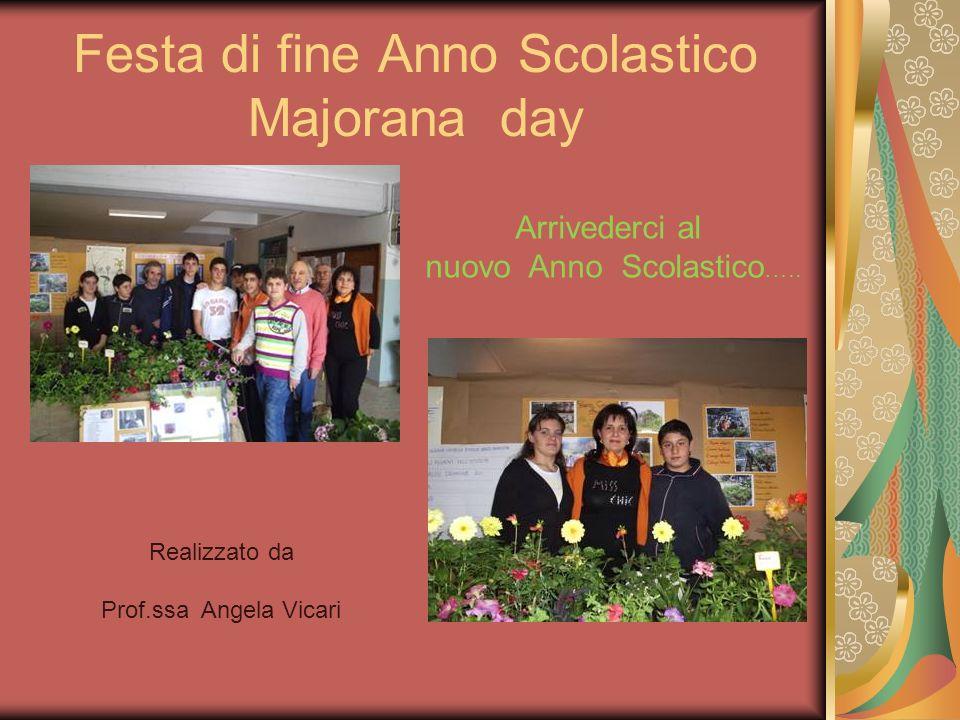Arrivederci al nuovo Anno Scolastico ….. Realizzato da Prof.ssa Angela Vicari