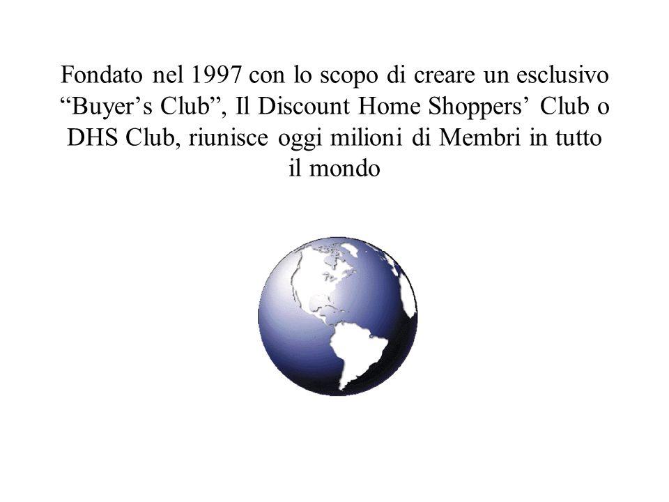 Fondato nel 1997 con lo scopo di creare un esclusivo Buyers Club, Il Discount Home Shoppers Club o DHS Club, riunisce oggi milioni di Membri in tutto