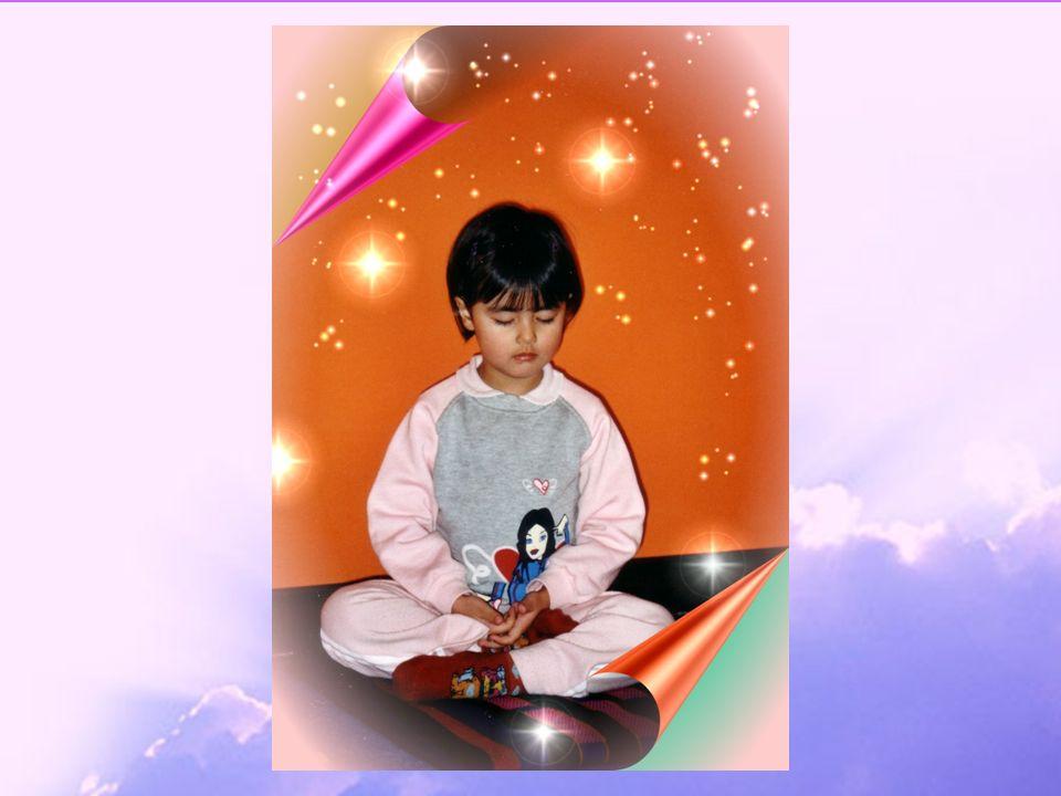 Lo Yoga dei bambini- APNU31 Meditazione Il mantra viene ripetuto anche nella meditazione silenziosa.