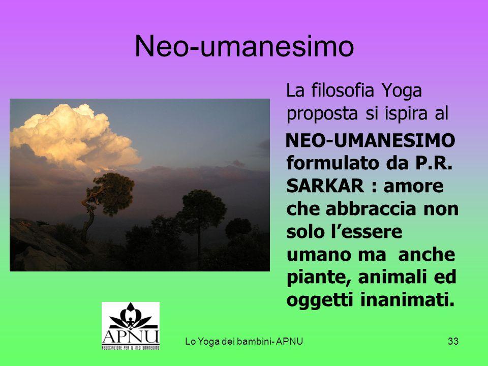 Lo Yoga dei bambini- APNU32