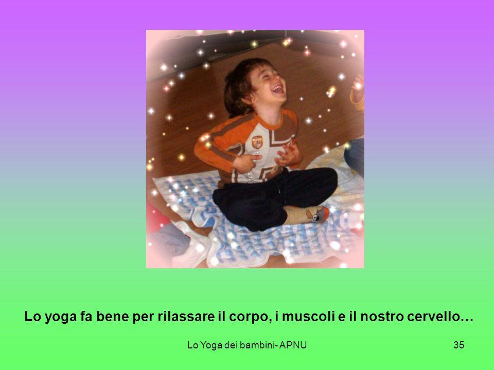 Lo Yoga dei bambini- APNU34