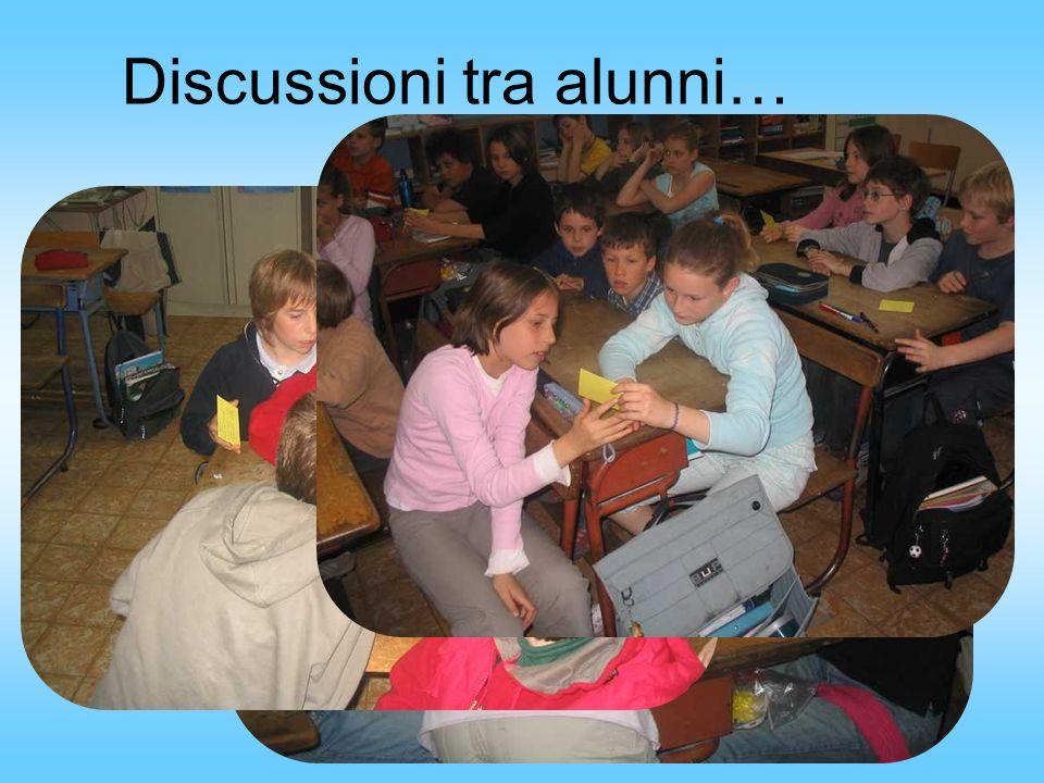 Discussioni tra alunni…