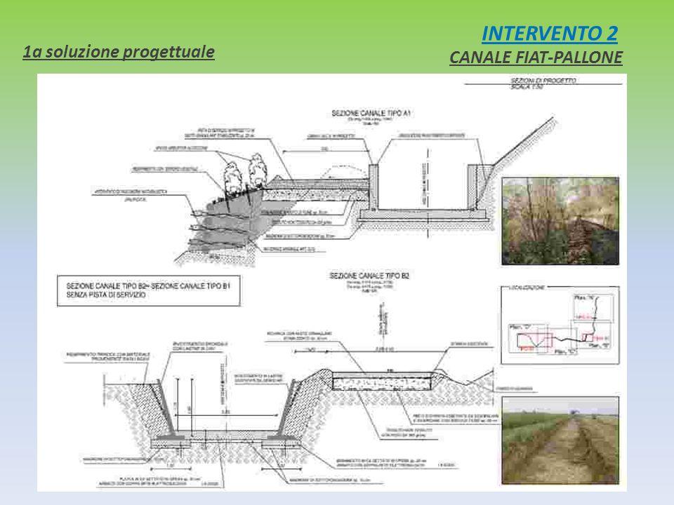 INTERVENTO 2 CANALE FIAT-PALLONE 1a soluzione progettuale