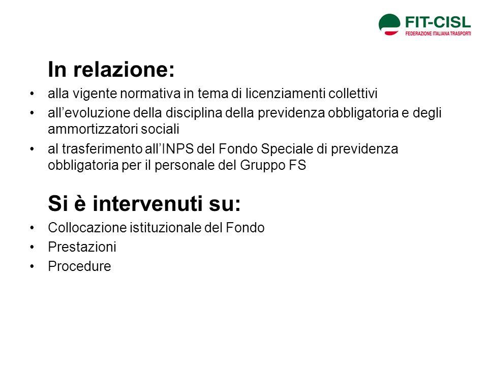 Fase 3: Accordo sì - Accordo no Se cè accordo: si attivano le prestazioni ordinarie e straordinarie del Fondo così come stabilito nellaccordo sindacale.